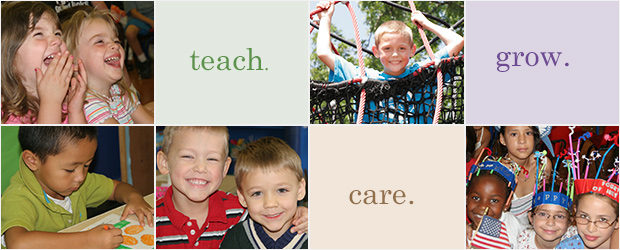 teach. care. grow.